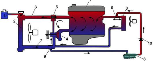 Схема установки лунфея