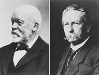 бензиновый двигатель внедрили Gottlieb Daimler и Karl Benz