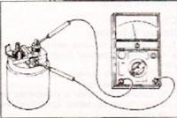 проверка втягивающего реле стартера исузу