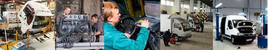 Ремонт грузовиков jmc 1032,1043,1051, foton, isuzu nqr, nlr, baw, faw